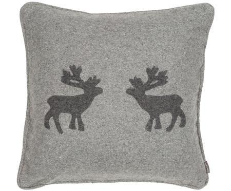Wollfilz-Kissen Sister Reindeer, mit Inlett