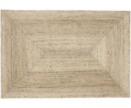 Handgefertigter Jute-Teppich Sharmila