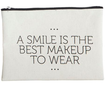 Kosmetická taška se zipem Smile