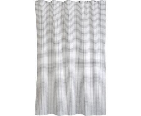 Tenda da doccia sottile Tile in cotone misto
