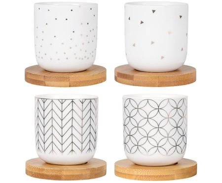 Ensemble de mini-mugs Hexa, 8 élém.