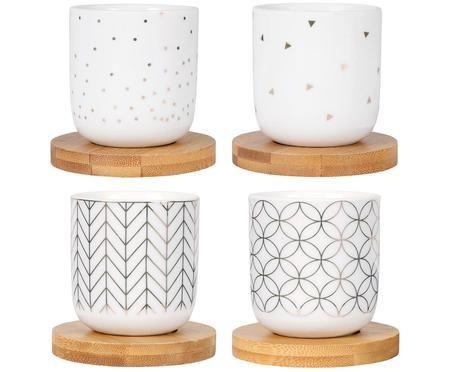 Set de tazas XS Hexa, 8pzas.