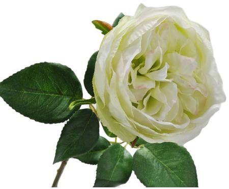 Flor artificial rosa Talina