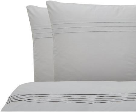 Parure de lit en percale plissé Felicie