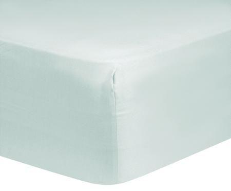 Katoensatijnen hoeslaken Comfort