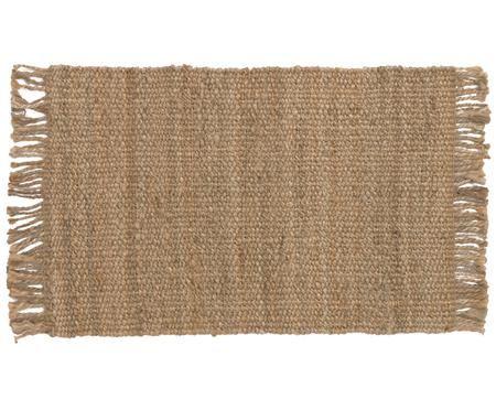 Handgefertigter Jute-Teppich Cadiz