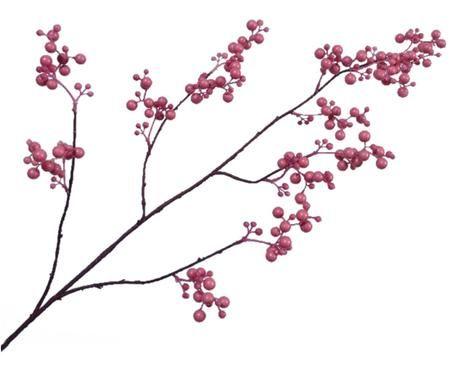 Sztuczny kwiat czerwonej jagody Barbara