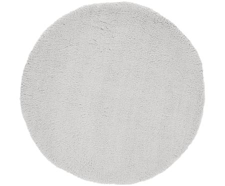 Načechraný kulatý koberec svysokým vlasem Leighton