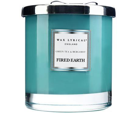 Świeca zapachowa Fired Earth (zielona herbata i bergamotka)