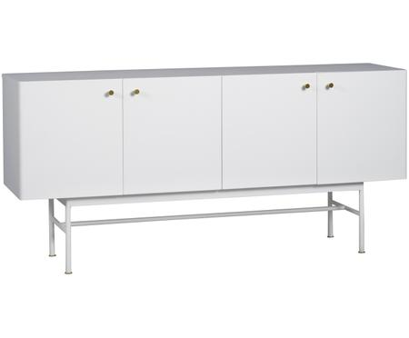 Design dressoir Glendale in wit