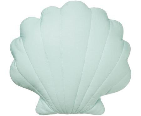 Vankúš z organickej bavlny Sea Shell, s výplňou