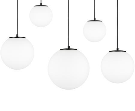 Hanglamp  met bollen Tsuki van opaalglas