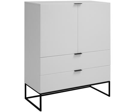 Wit dressoir Kobe met laden