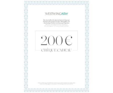 Chèque cadeau à imprimer 200 €