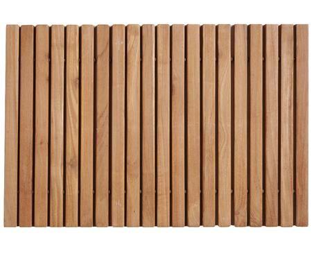 Mata łazienkowa z drewna Anna