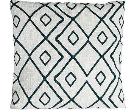 Kissenhülle Pivja mit grafischem Muster