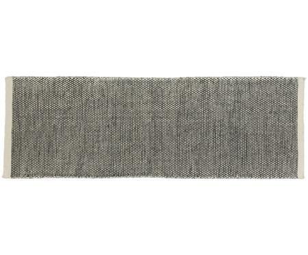 Ručne tkaný vlnený behúň Asko