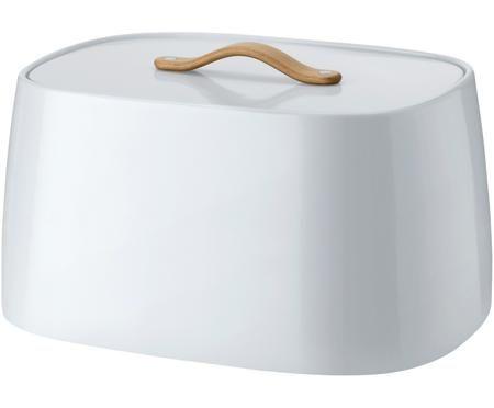 Boîte à pain design blanche bleutée Emma