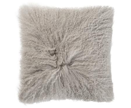 Cojín de piel de oveja de pelo largo Curly