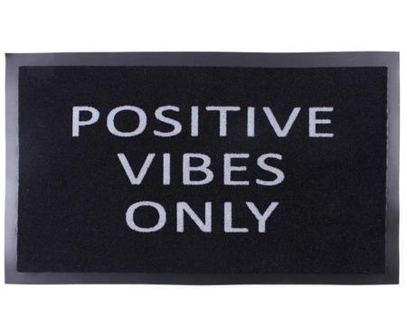 Fußmatte Positive vibes only