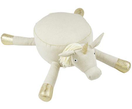 Pouf per bambini unicorno Heloise