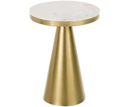Tavolino rotondo in marmo Zelda