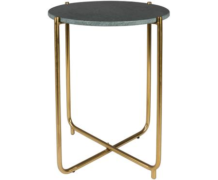 Okrągły stolik pomocniczy z marmuru Timpa