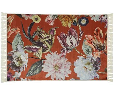 Teppich Filou mit Blumenmuster
