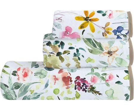 Set de toallas Calm Flowers, 3pas.