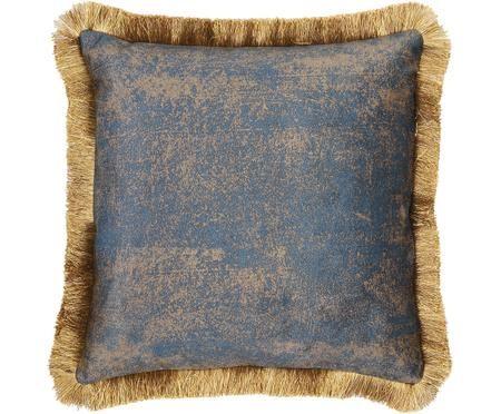 Cuscino in velluto Velvia, con imbottitura