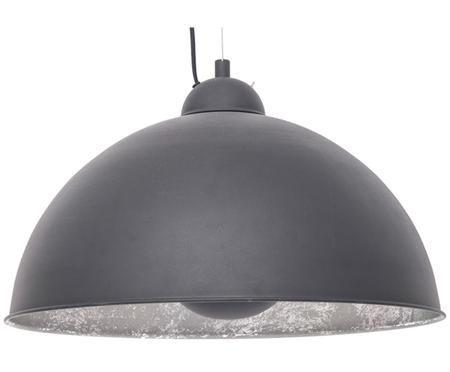 Lampada a sospensione industriale Silver Sun