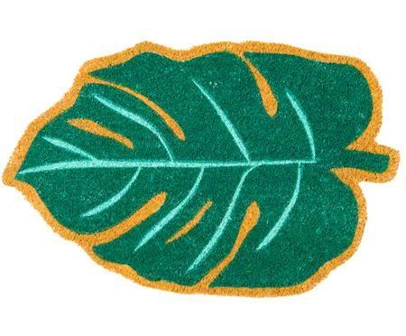 Zerbino in cocco a forma di foglia Leaf