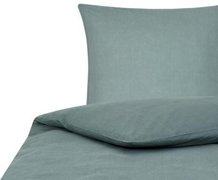 Gewaschene Baumwoll-Bettwäsche Arlene mit Stehsaum