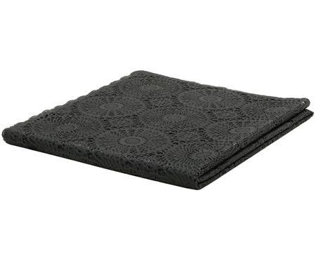 Tischdecke Crochet in Häkeloptik aus Kunststoff