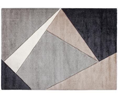 Tappeto My Broadway con motivo geometrico in beige-grigio