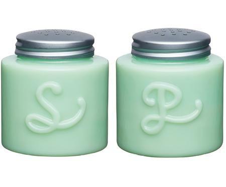 Salz- und Pfefferstreuer Mint, 2er-Set