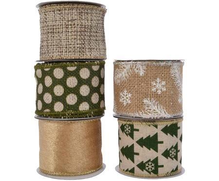 Set de cintas decorativas Nice, 5 pzas.