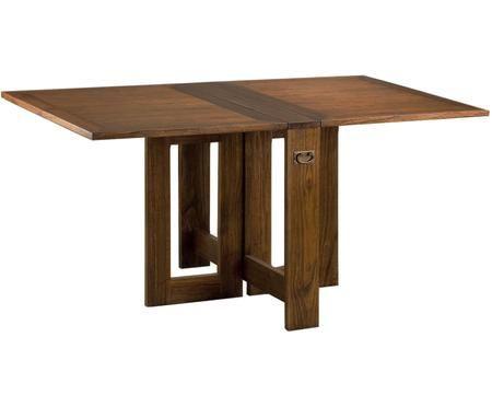 Mesa de comedor extensible artesanal Star