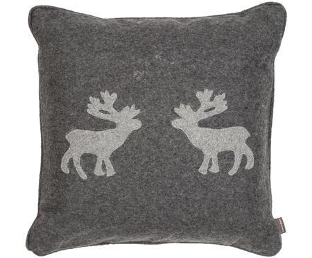 Coussin en feutre de laine Sister Reindeer