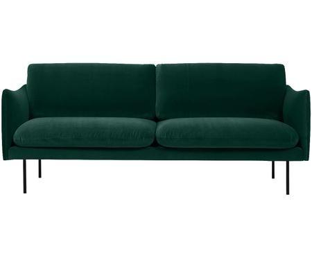 Samt-Sofa Moby (2-Sitzer)