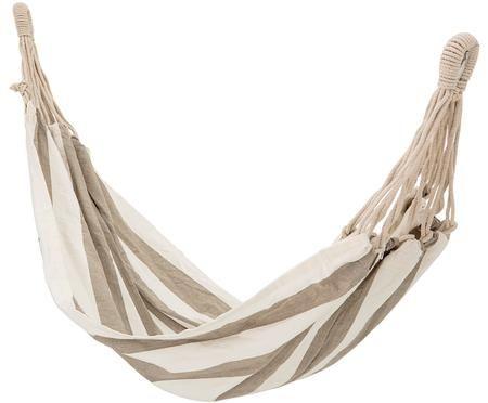 Hängematte Lazy aus Baumwolle mit gestreiftem Muster