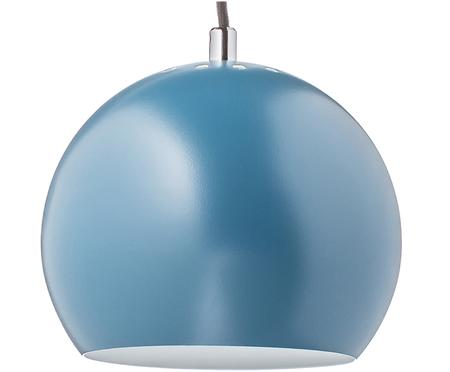 Suspension boule bleue Ball