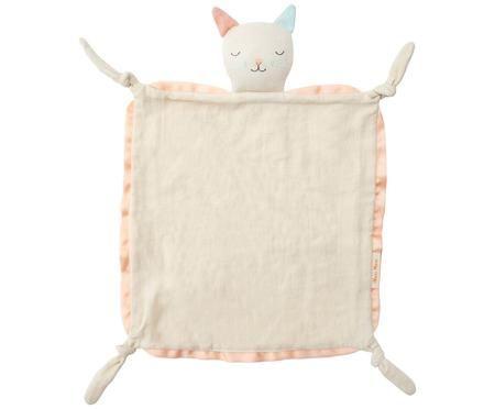 Schmusetuch Cat aus Bio-Baumwolle