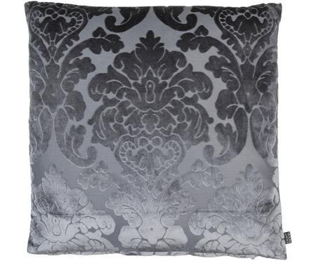 Federa arredo in velluto con ornamenti Chateau