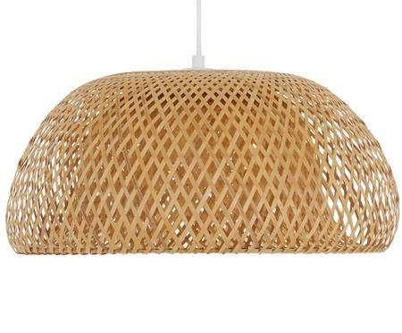 Handgemaakte hanglamp Eden van bamboehout
