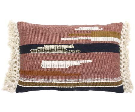 Cuscino fatto a mano Aztec in stile boho, con imbottitura