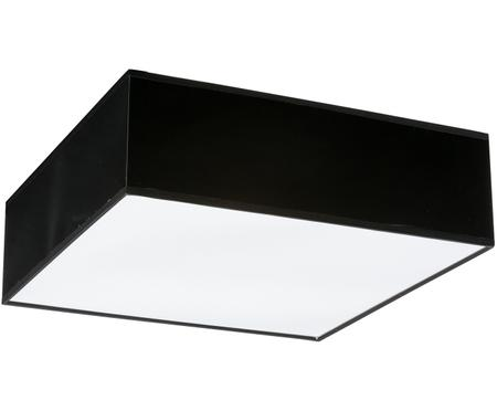 Plafonnier en plastique noir Mitra