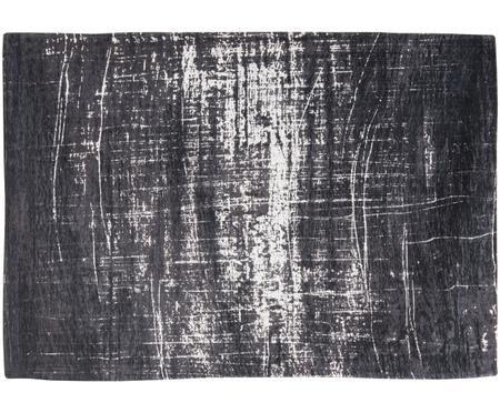 Petit tapis blanc-noir Griff