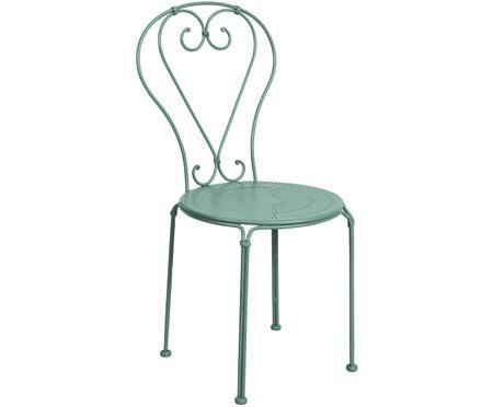 Gartenstühle Century aus Metall, 2 Stück