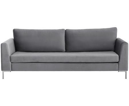 Sofa z aksamitu Luna (3-osobowa)